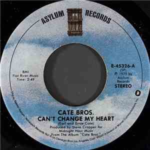 Cate Bros. - Can't Change My Heart download mp3 flac
