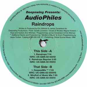 Deepswing Presents AudioPhiles - Raindrops download mp3 flac